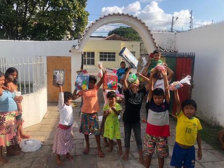 Dia das Crianças nos abrigos dos migrantes venezuelanos