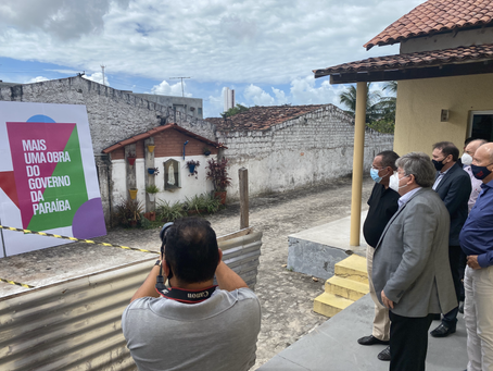 Visita do Governador João Azevedo