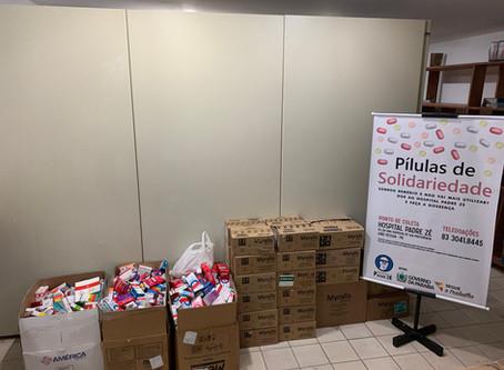 Doações da Campanha Pílulas da Solidariedade