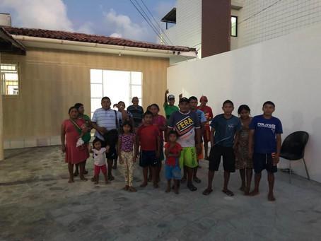 Mudança de Casa Abrigo - 08 famílias do Cacique Nelson