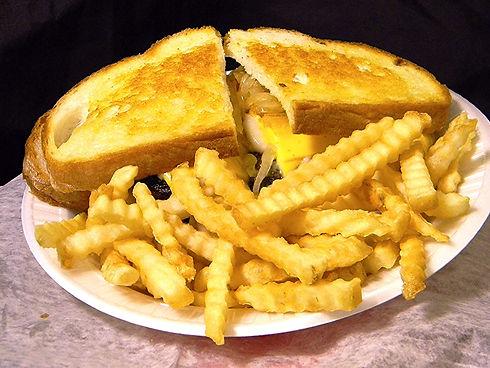 Don Walker's Sandwich Center 1/2 lb Steak Sandwich