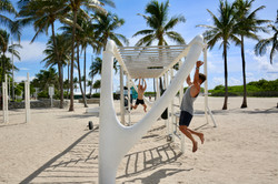 beach gym for all of us