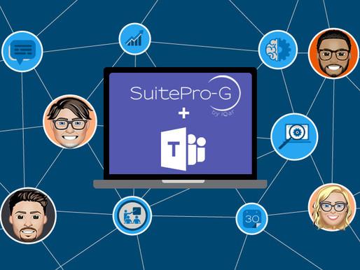 La solution SuitePro-G by IQar s'intègre à Microsoft Teams !