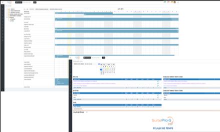 SuiteProG – Gestion du temps en gestion des projets