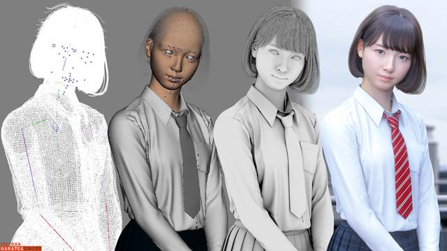 3DCG女子高生Sayaと暮らす未来――難しいことも優しいこともSayaといっしょに考える