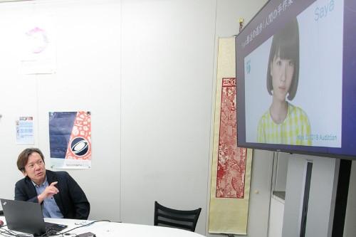NATIONAL GEOGRAPHICにて森嶋教授よりSayaをご紹介いただきました