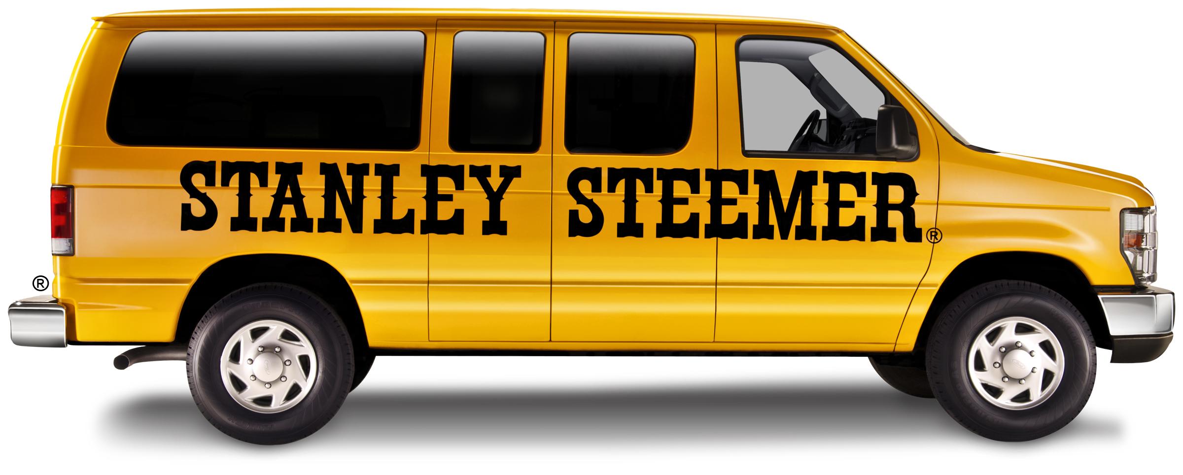Stanley Steamer Van lettering