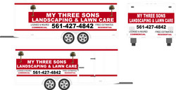 My Three Sons LawnCare Trailer