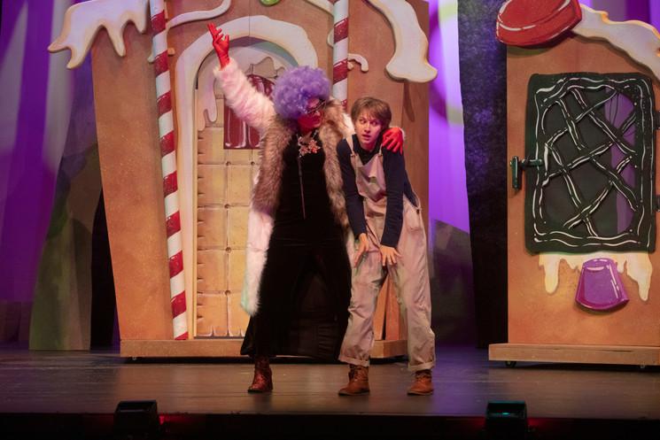 Hansel and Gretel, Act 2 Fargo-Moorhead Opera October 2019