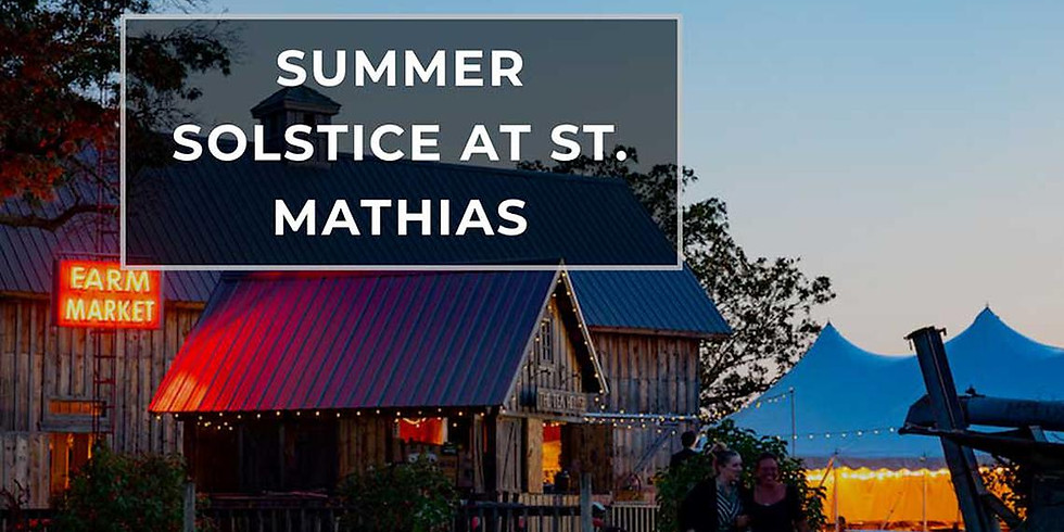 Summer Soltice at St. Mathias
