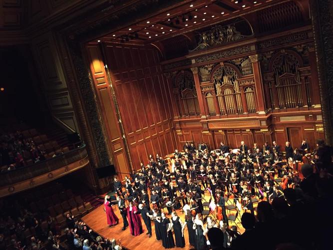 An Evening in Valhalla Event Jordan Hall, Boston, MA December 2014