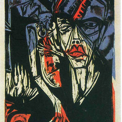 Ernst Ludwig Kirchner, xilogravura