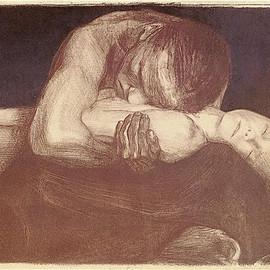 Käthe Kollwitz. Pietà (lithography, 1903