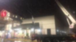 rooftop units, commercial, crane, crane service, boom truck, helena, montana