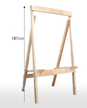 4 Leg Taregt Stand for 125 cm Target