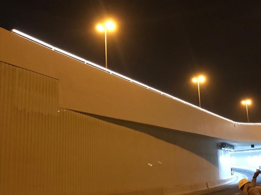 E-ring Road Architectural Handrail
