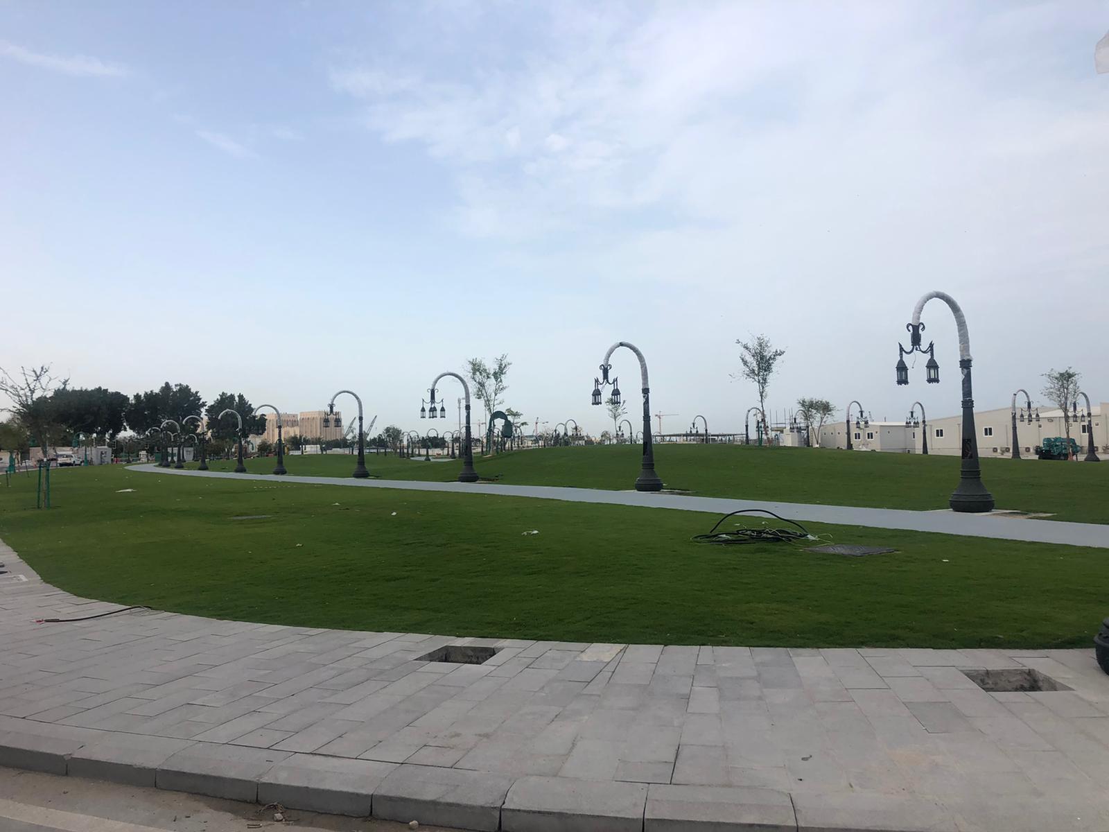 Doha Port Solar Lighting Poles