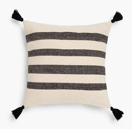 Funda de Cojín Zebra Negro