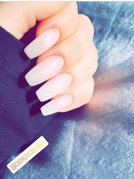 Pink Nude Gel Nails