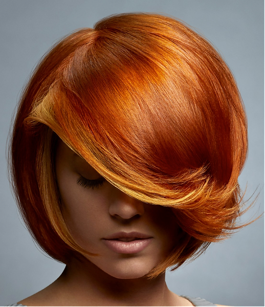 Vibrant Copper Hair Color