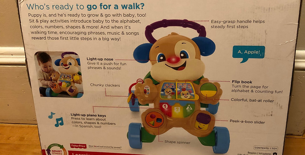 Motor: Fisher-Price Walking Toy