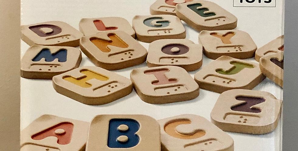 Cognitive: Braille Alphabet Letter Tiles