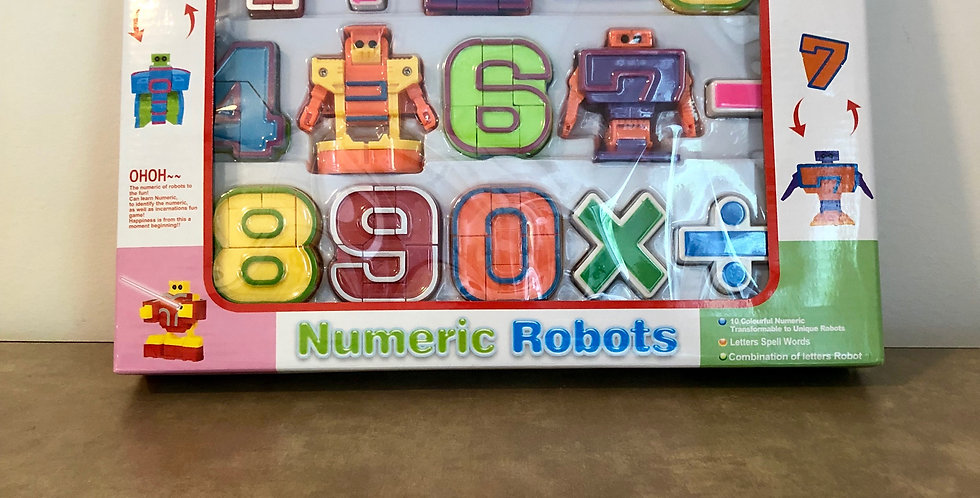 3 and Up: NumberBots