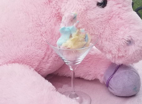 Cotton Candy Martinis And White Chocolate Snack Mix