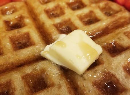 Lagniappe: Sourdough Discard Waffles