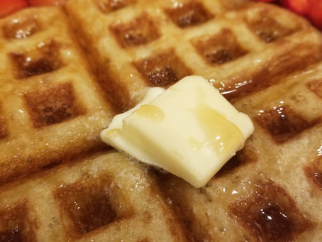 Lagniappe: Sourdough Discard Waffles