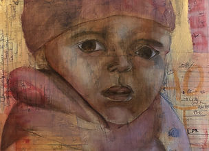 Immigrant Child_Mixed media_16x20in.jpg