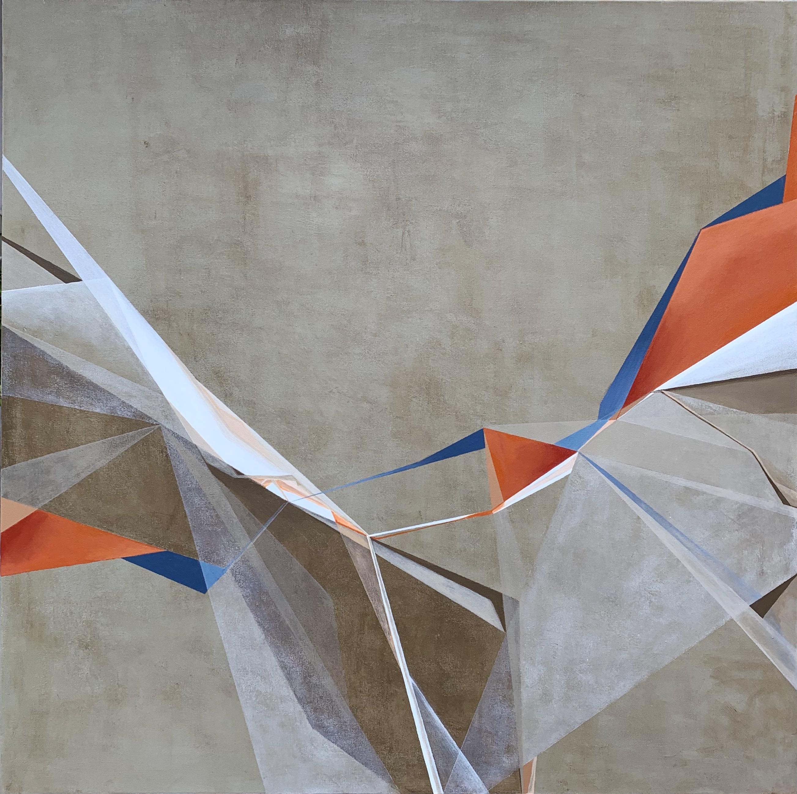 Boundaries #6 - Acrylic on canvas 36x36.