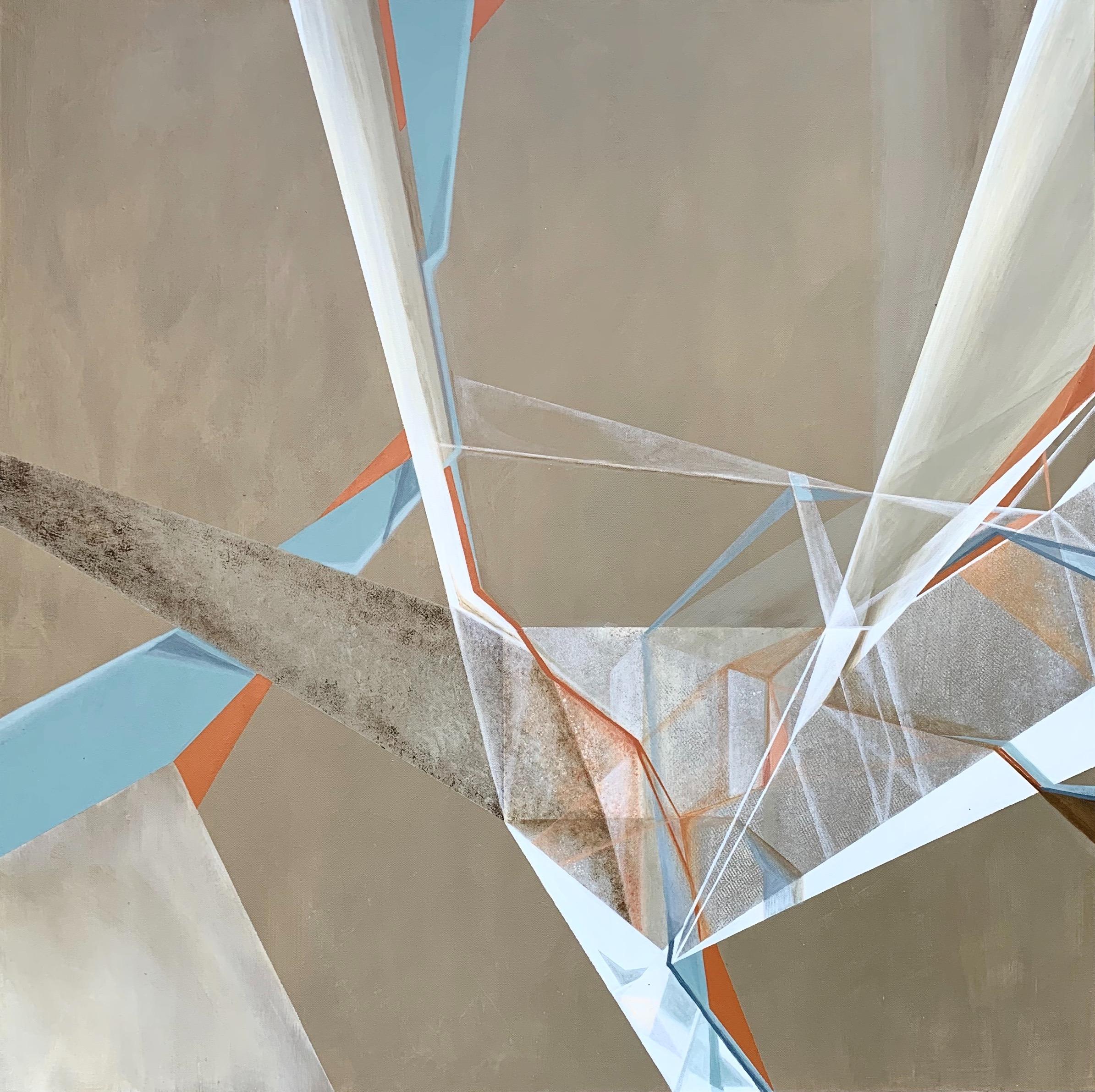 Boundaries #5 - Acrylic on canvas 36x36