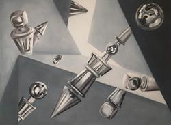 Puzzle. Acrylic On Canvas