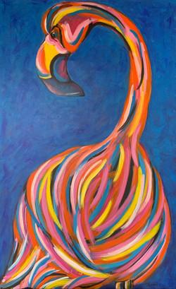 Flamingo.30_48.2016.acrylic