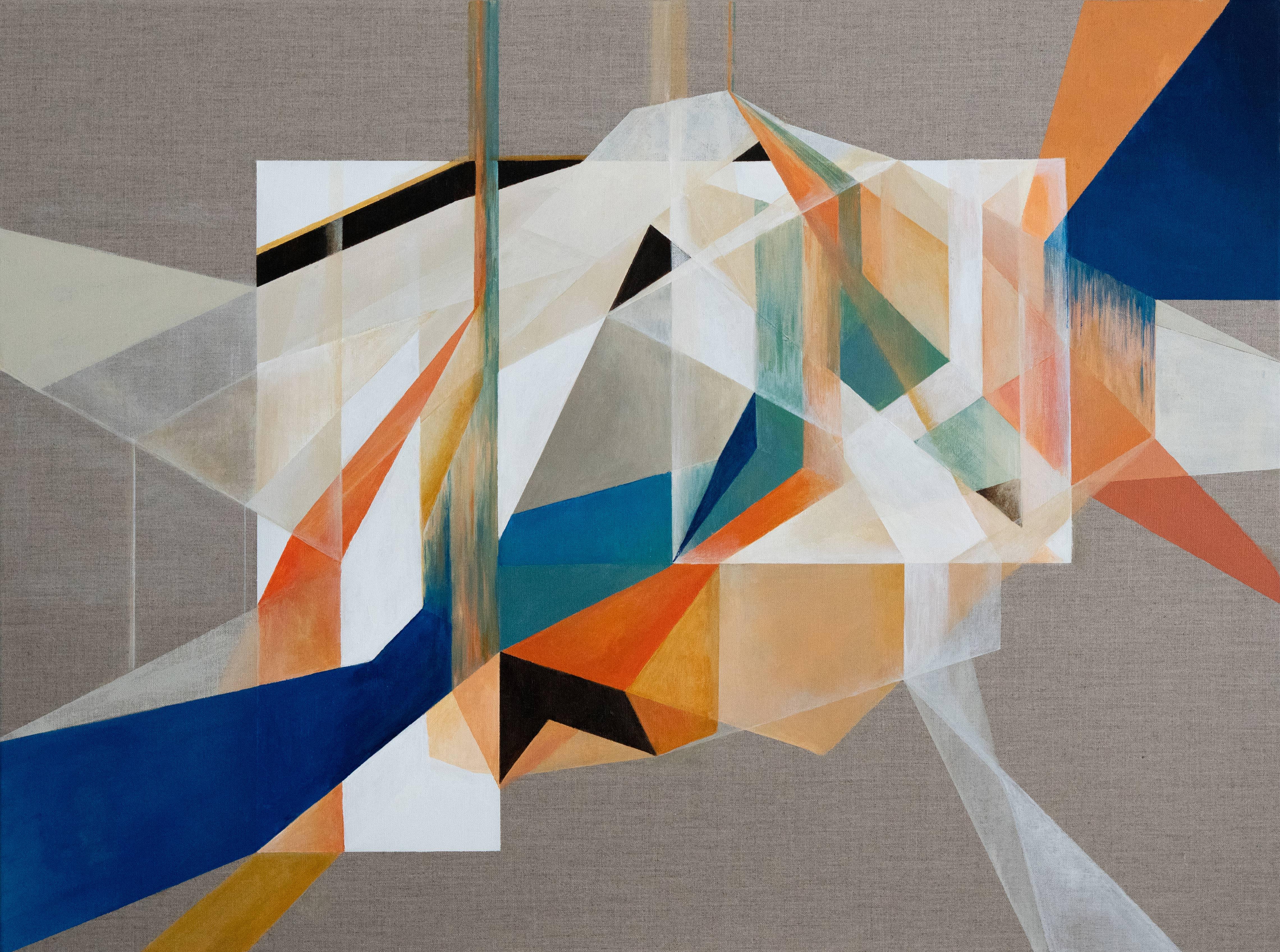 Boundaries #2 Acrylic on Canvas 30x40