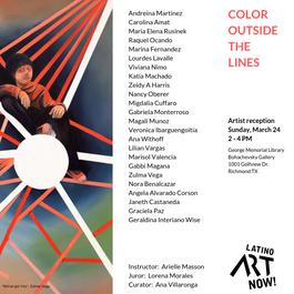 Color outside the line Exhibit
