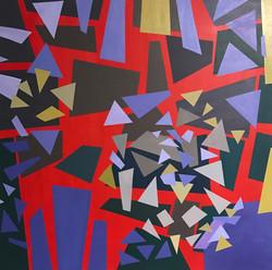 Canvas Acrylic Dynamic 35 x 35