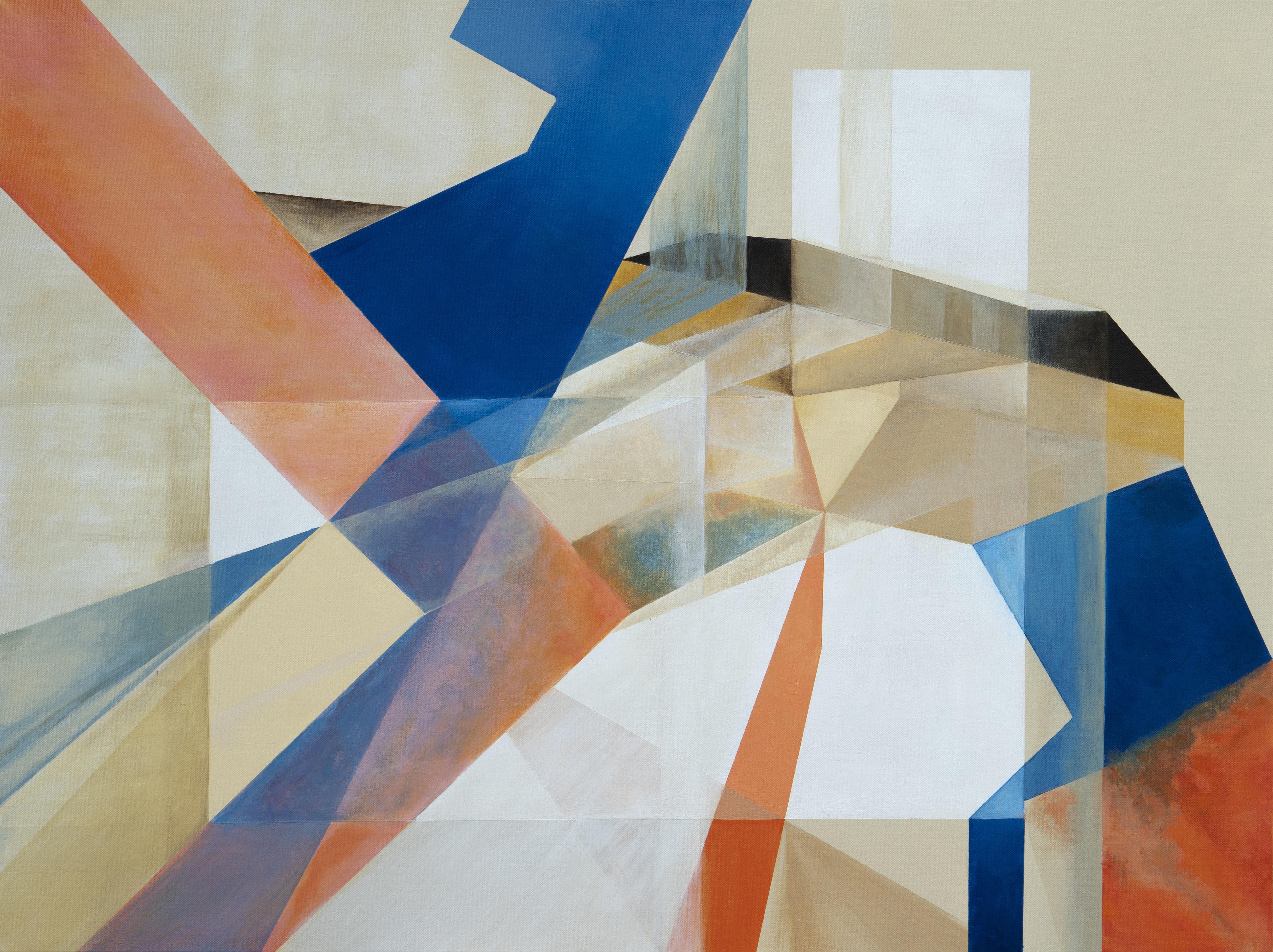 Boundaries #1 Acrylic on Canvas 30x40