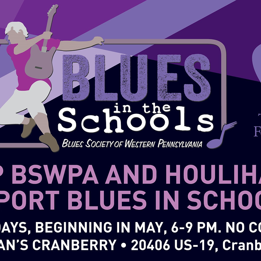 Blues Sundays at Houlihan's Cranberry