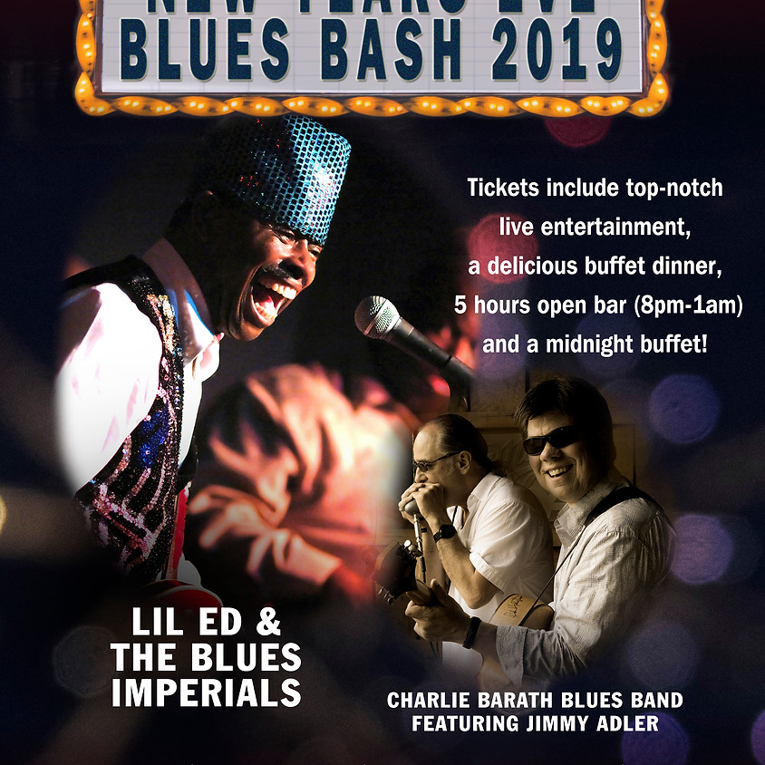 2019 New Years Eve Blues Bash!
