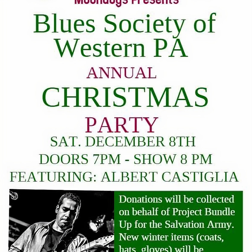 Holiday Party with Albert Castiglia