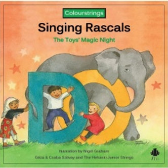 Singing Rascals Do CD (Orange)