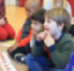Children are fascinated by our music classes