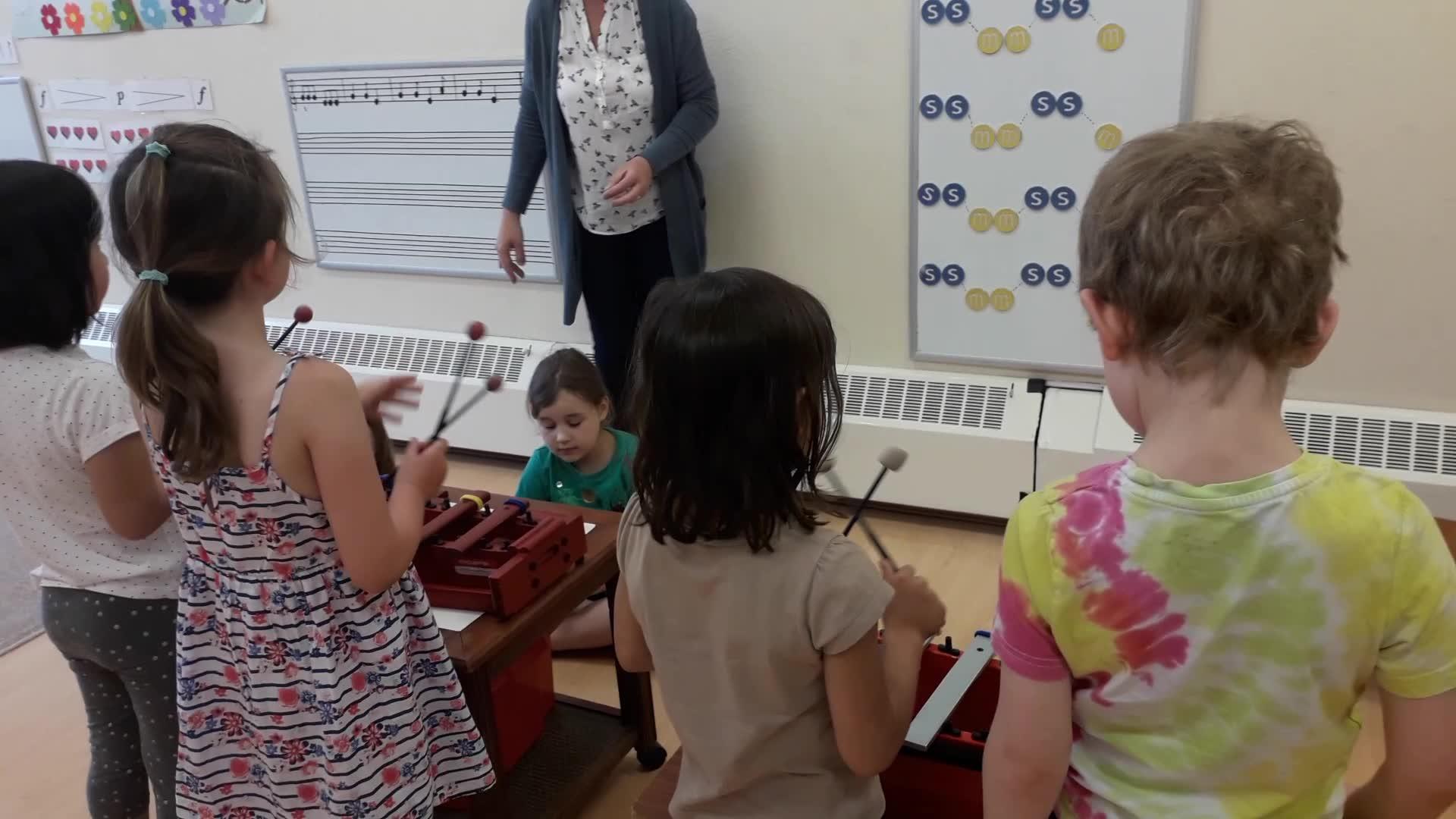 Music Reading on Xylophones (Cobbler Cobbler)