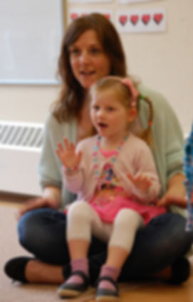 Fun music class for mums and kids