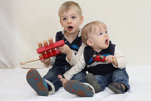 Tue 10:00 Baby & Toddler 0-3 yrs Online Music Class