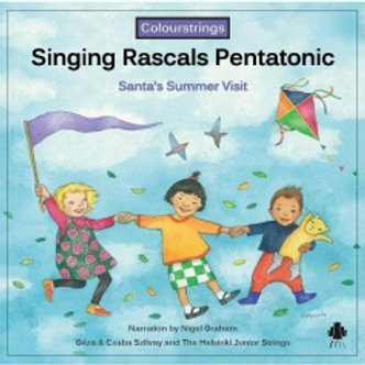 Singing Rascals Pentatonic CD (Light Blue)