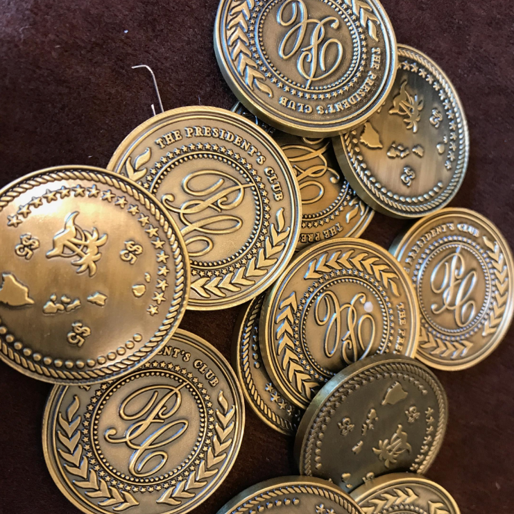 Golden Coins for Incentive Gifts