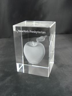 3D Crystal Cube